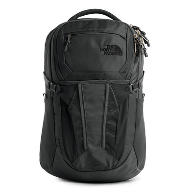 Unisex The North Face Recon Backpack in Asphalt Grey/Silver Reflective from the front view