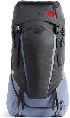 Unisex The North Face Terra 55 Backpack in Grisaille Grey/Asphalt Grey