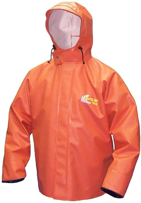 Men's Viking Bristol Bay Heavy Duty Jacket in Orange color from the front