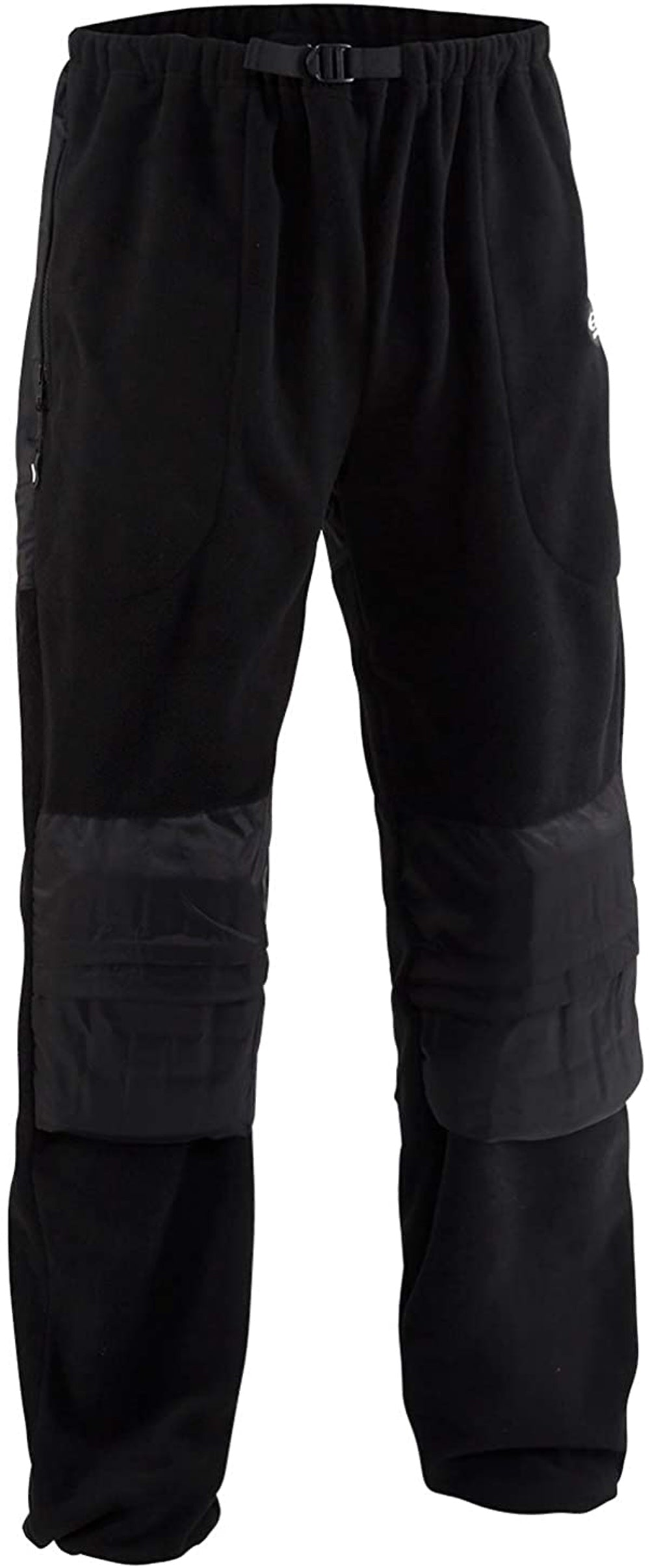 Viking Fleece Pant in Black color from the front view