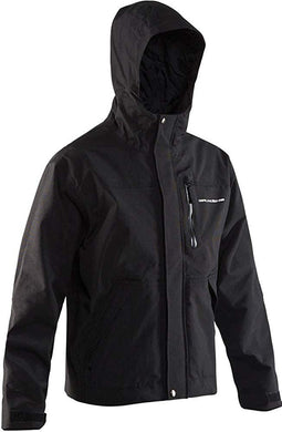 Weather-Boss Jacket in Black color from the front view