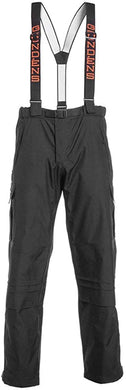 Weather-Boss Pant in Black color from the front view