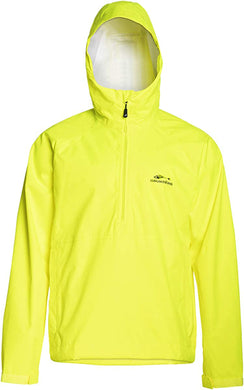 Weather Watch Anorak in Hi Vis Yellow color from the front view
