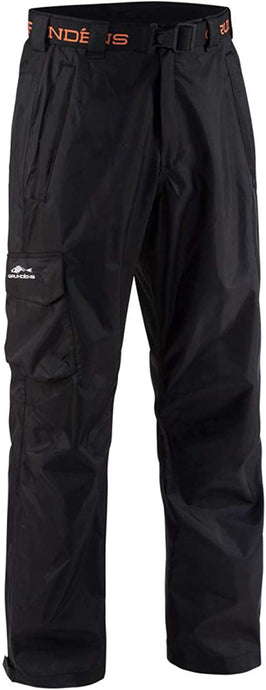 Weather Watch Pant in Black color from the front view