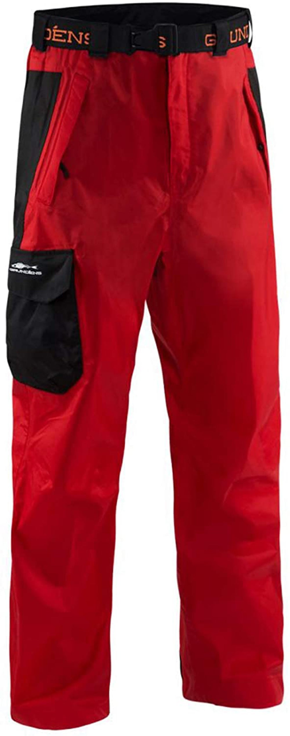 Weather Watch Pant in Red color from the front view