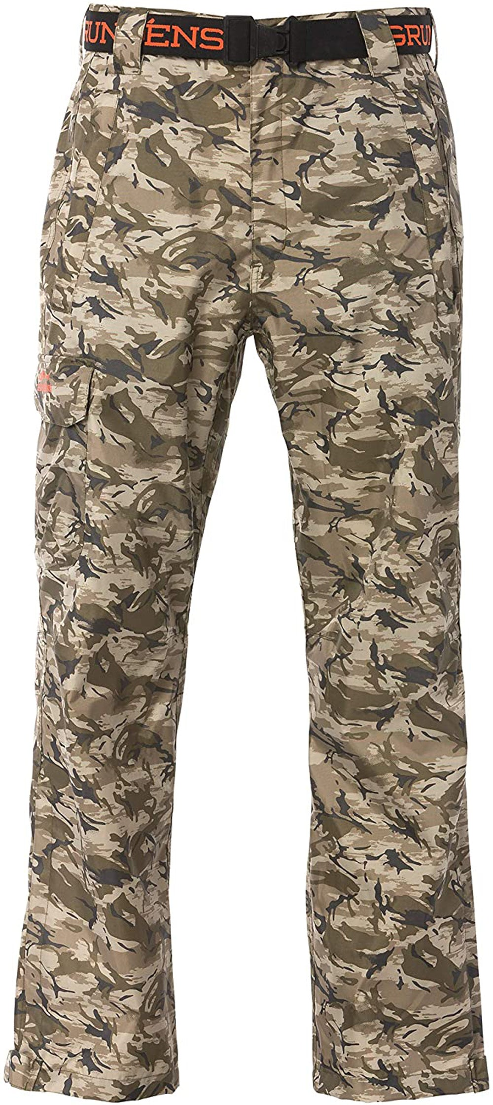 Weather Watch Pant in Refraction Camo Stone color from the front view