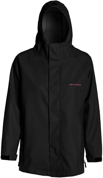 Women's Neptune Jacket in Black color from the front view
