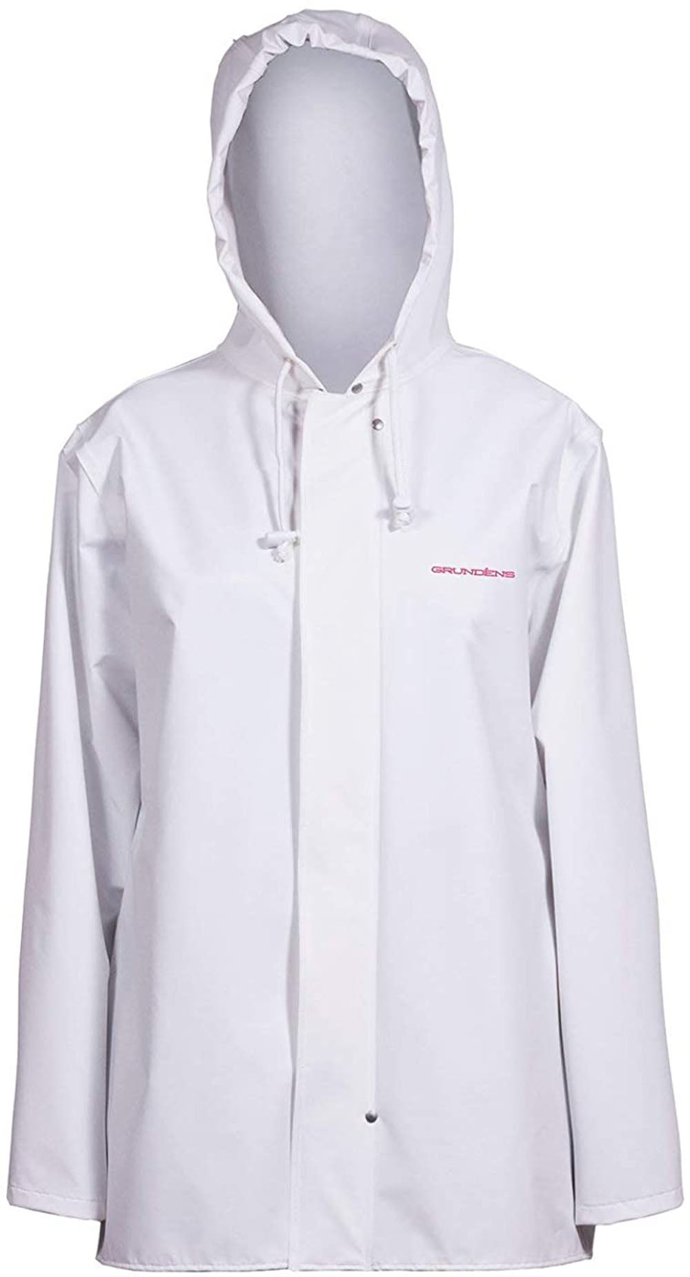 Women's Petrus Jacket in White color from the front view