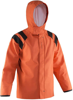 Women's Sedna Jacket in Orange color from the front view