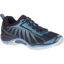 Load image into Gallery viewer, Merrell Women's Siren Edge 3 Hiking Shoe in Black/Bluestone from the side