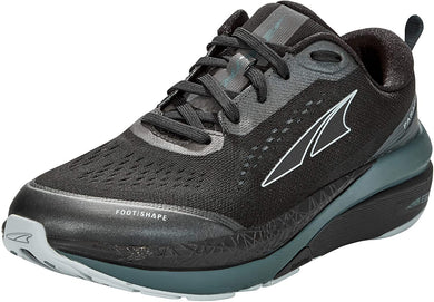 Altra Women's Paradigm 5 Road Running Shoe in Black from the side