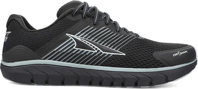 Altra Women's Provision 4 Road Running Shoe in Black from the side