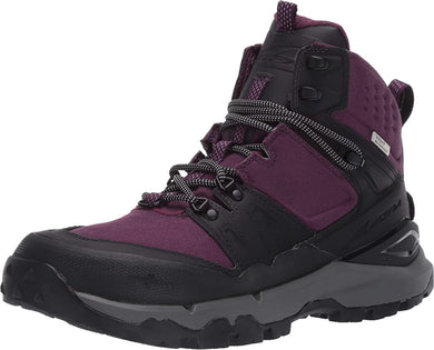 Altra Women's Tushar Hiking Boot in Black/Purple from the side
