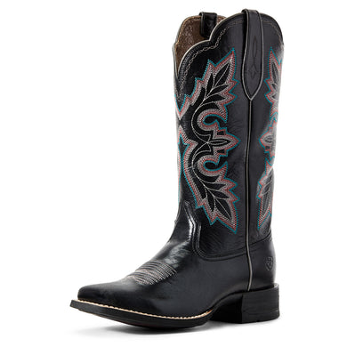 Women's Ariat Breakout Western Boot in Jackal Black