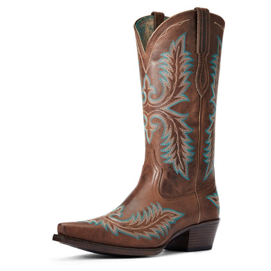 Women's Ariat Carolina Western Boot in Sassy Brown