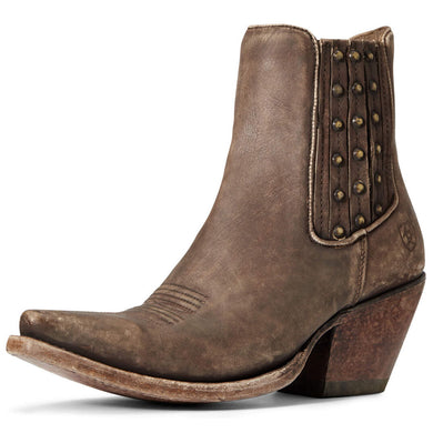 Women's Ariat Eclipse Western Boot in Naturally Distressed Brown