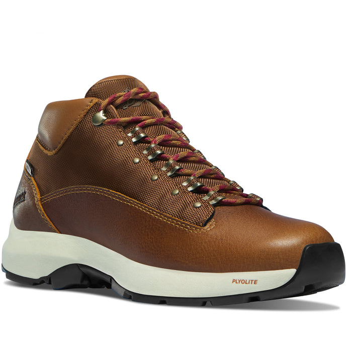 Danner Women's Caprine EVO Danner Dry Waterproof Lifestyle Boot in Cathay Spice from the side