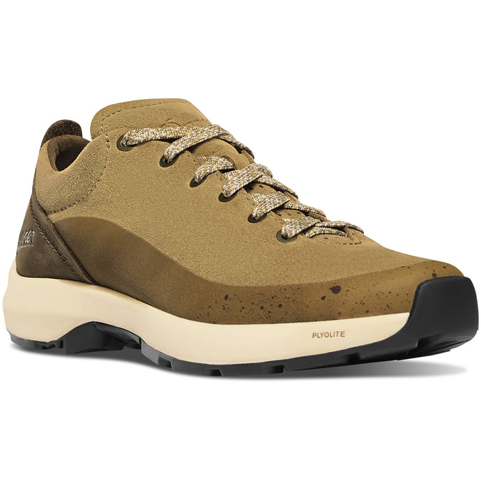 Danner Women's Caprine Low Lifestyle Shoe in Antique Bronze from the side