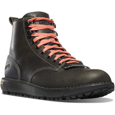 Danner Women's Logger 917 Gore-Tex Waterproof Lifestyle Boot in Charcoal from the side