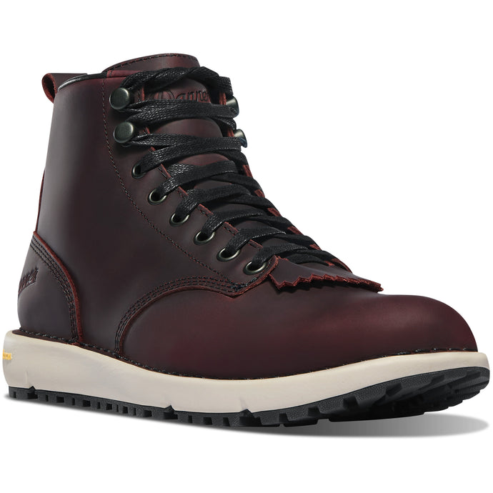 Danner Women's Logger 917 Lifestyle Boot in Port from the side