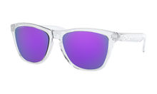 Load image into Gallery viewer, Women's Oakley Frogskins (Asia Fit) Sunglasses in Polished Clear Prizm Violet