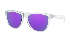 Women's Oakley Frogskins (Asia Fit) Sunglasses in Polished Clear Prizm Violet