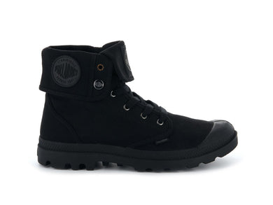 Women's Palladium Baggy Boot In Black/Black