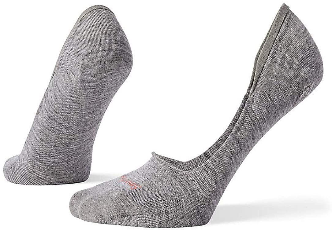 Women's Smartwool Secret Sleuth No Show Sock in Light Gray