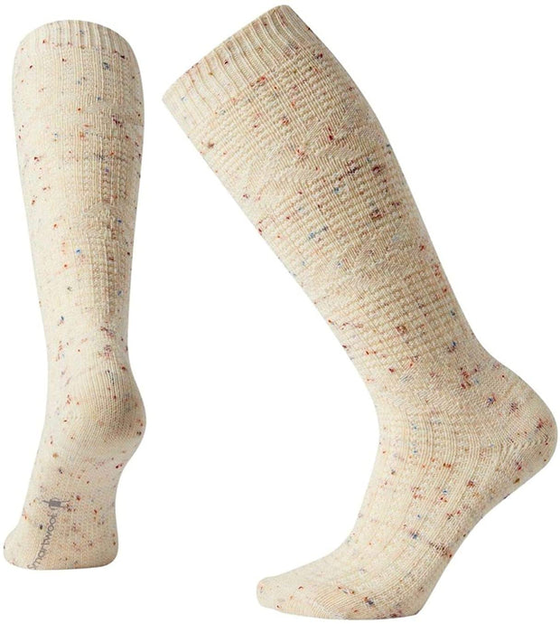 Women's Smartwool Wheat Fields Knee High Socks in Multi Donegal from the front