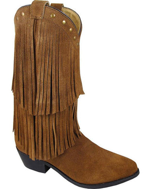 Women's Smoky Mountain Wisteria Western Boot in Brown