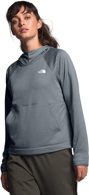 Women's The North Face Echo Rock Pullover Hoodie Hoodie in Mid Grey