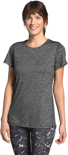 Women's The North Face Hyperlayer FD Short Sleeve Shirt in TNF Dark Grey Heather