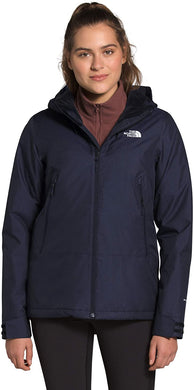 Women's The North Face Inlux Insulated Jacket in Aviator Navy Heather