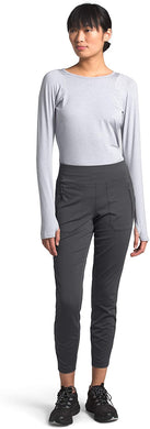 Women's The North Face Paramount Hybrid High Rise Tights in Asphalt Grey
