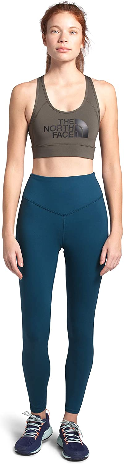 Women's The North Face Perfect Core High Rise Tight Pant in Blue Wing Teal
