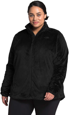 Women's The North Face Plus Osito Jacket Jacket in TNF Black