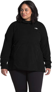 Women's The North Face Plus Tka Glacier Pullover Hoodie Hoodie in TNF Black