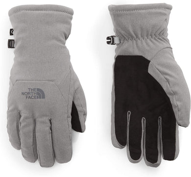 Women's The North Face Shelbe Raschel Etip Glove Glove in TNF Medium Grey Heather