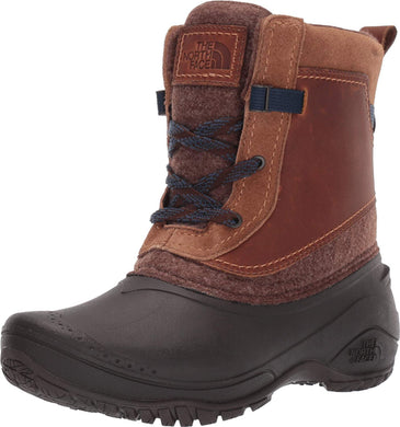 Women's The North Face Shellista III Shorty Boot in Demitasse Brown/Carafe Brown