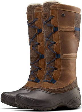 Women's The North Face Shellista IV Tall Boot in Demitasse Brown/Carafe Brown