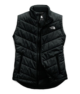 Women's The North Face Tamburello 2 Vest in TNF Black from the front