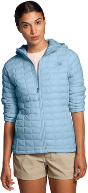 Women's The North Face Thermoball Eco Hoodie Hoodie in Angel Falls Blue Matte