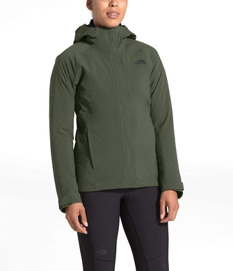 Women's The North Face Thermoball Eco Triclimate Jacket Jacket in New Taupe Green
