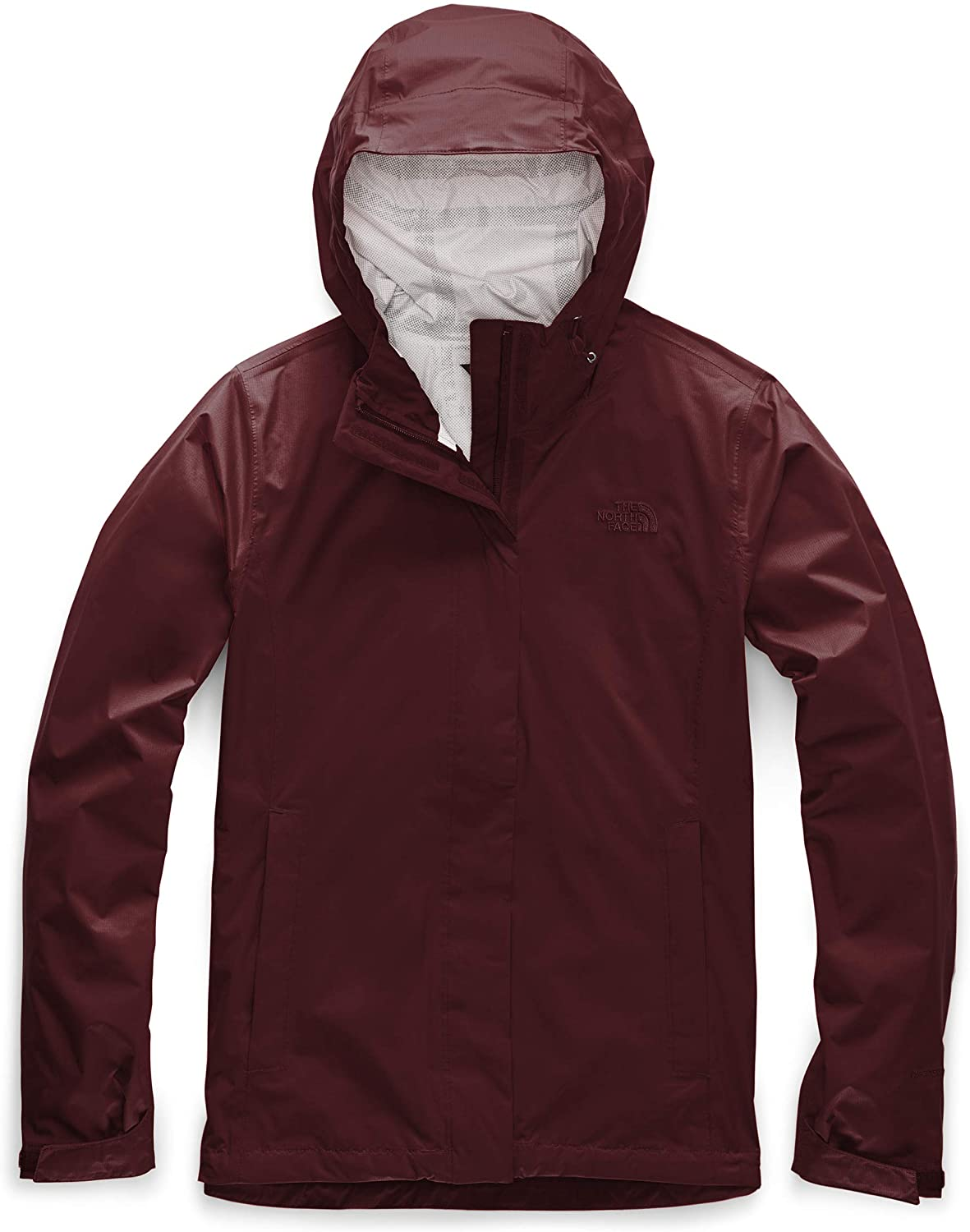 Womens The North Face Venture 2 Jacket Deep Garnet Red