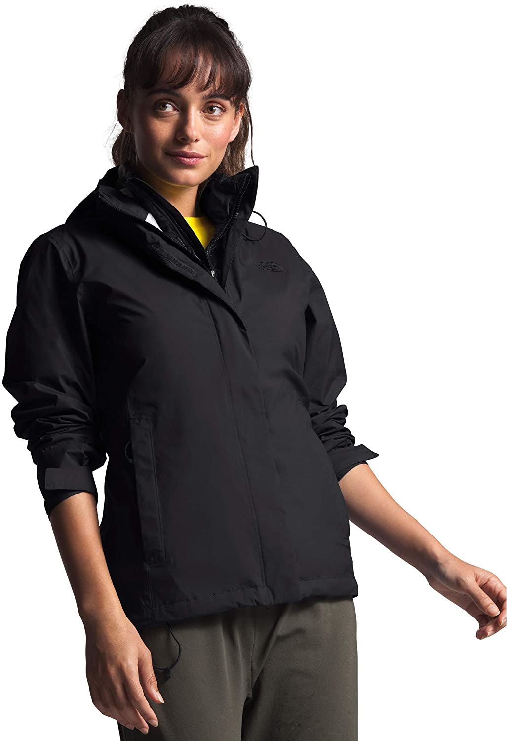 Womens The North Face Venture 2 Jacket Tnf Black Tnf Black