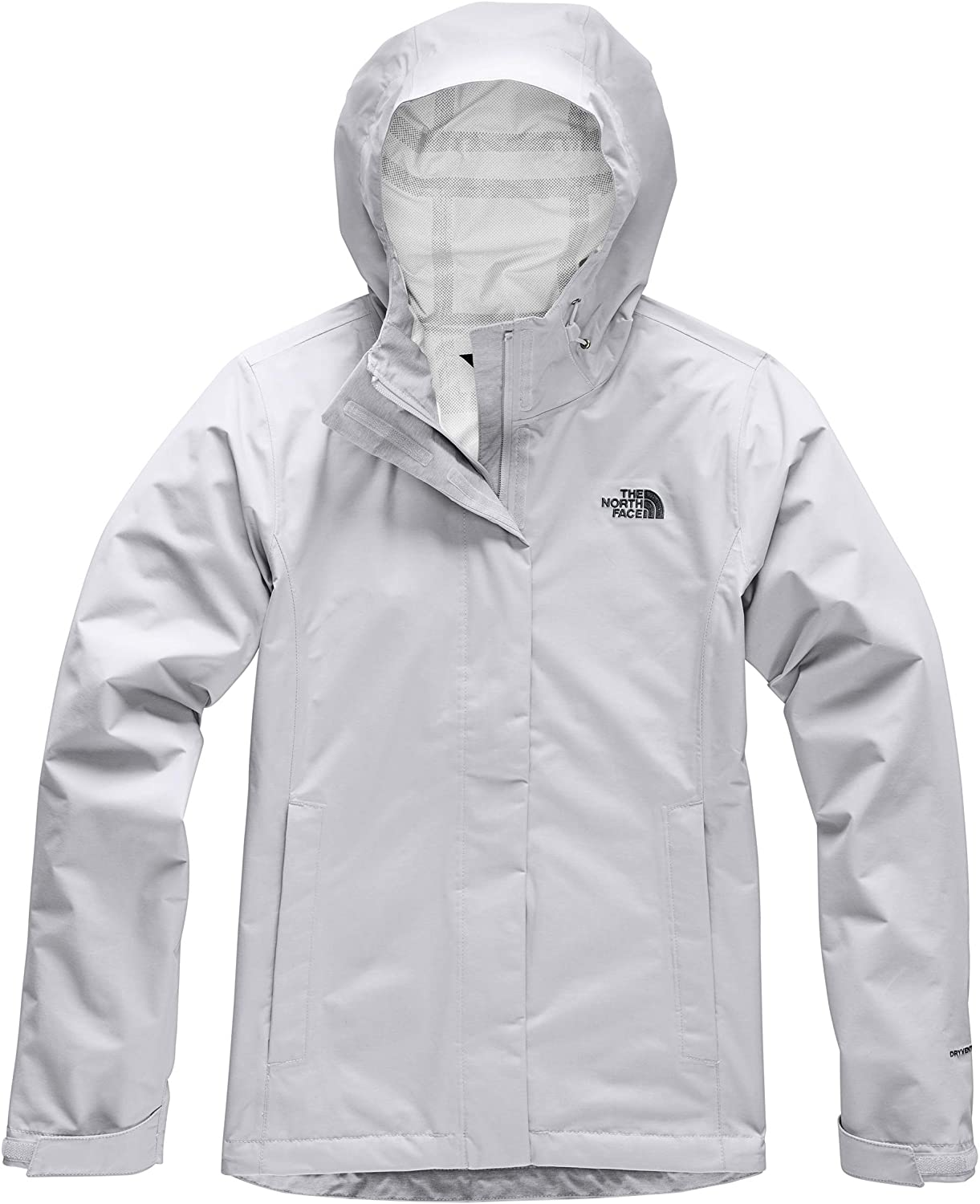 Womens The North Face Venture 2 Jacket Tnf Light Grey Heather