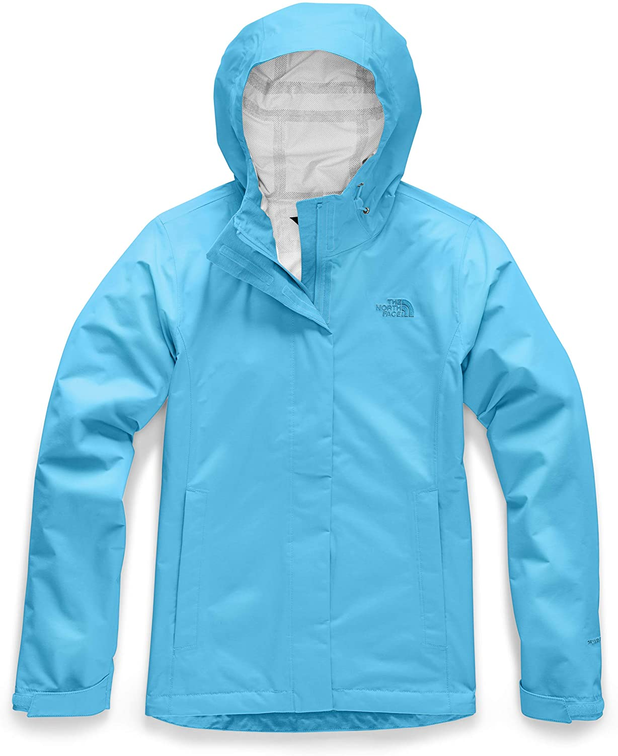 Womens The North Face Venture 2 Jacket Turquoise Blue