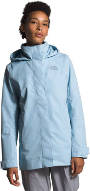 Women's The North Face Westoak City Trench Coat in Angel Falls Blue