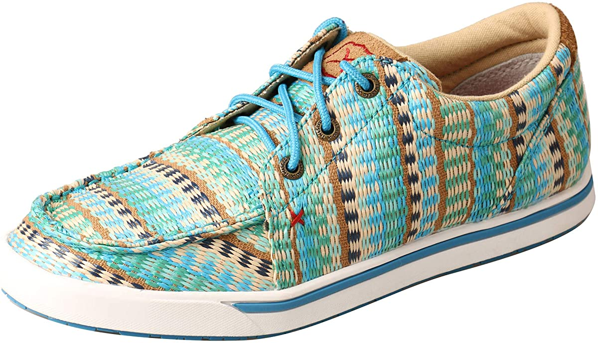 Women's Twisted X Casual Kicks Shoe in Blue Mirage from the front