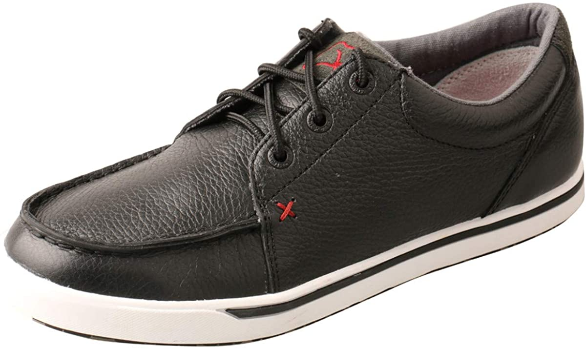Women's Twisted X Casual Kicks Shoe in Soft Black from the front